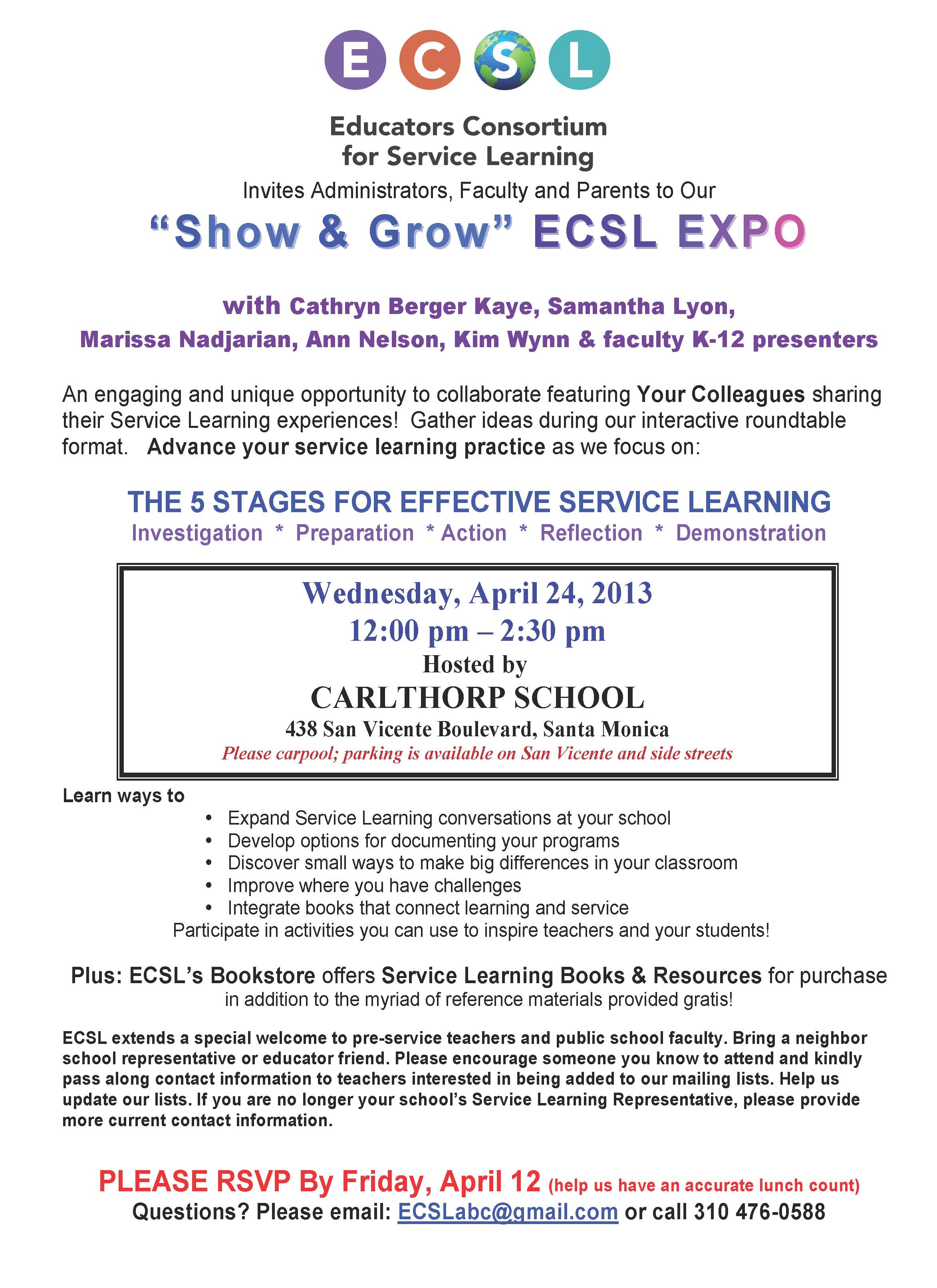 service learning | discover ecsl